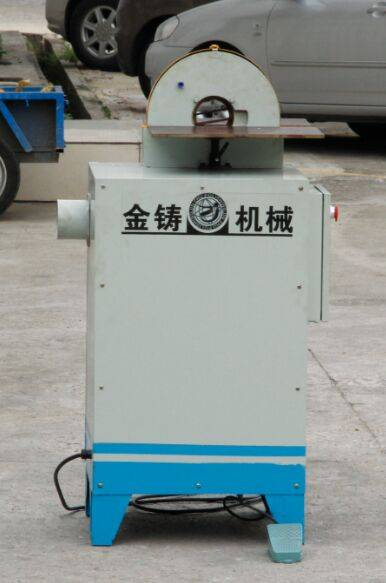 bent curved pipe buffing machine