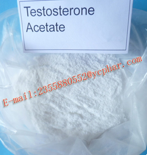 Test Ace. Oral Injectable Muscle Gain Anabolic Steroid Powder SGS Testosterone Acetate