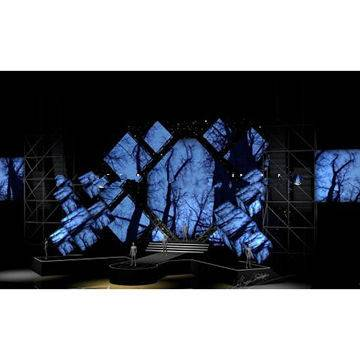 3D Effect LED Wall for Concert