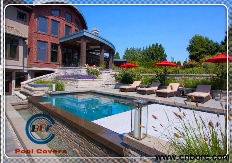 high-end custom Electric swimming pool cover salts reduce chemical in your pool