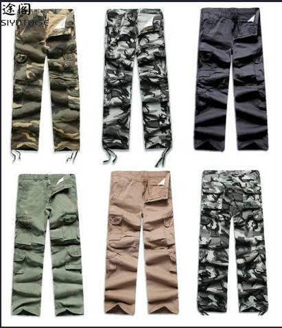 Military Camouflage Design Casual Cargo Long Pants for Men (143) Winter Jacket (F-1632)