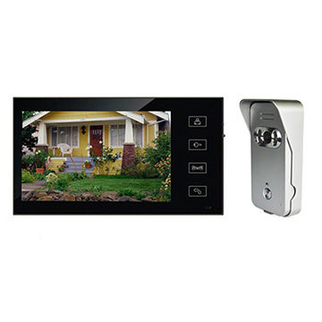 Video intercom systems smart doorbell 7 inch HD LCD screen clear two way audio outdoor camera ring