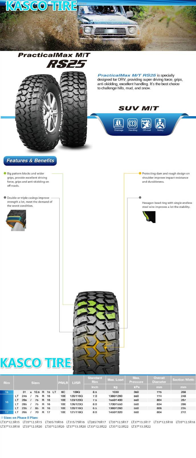 PCR-Cross-country tire