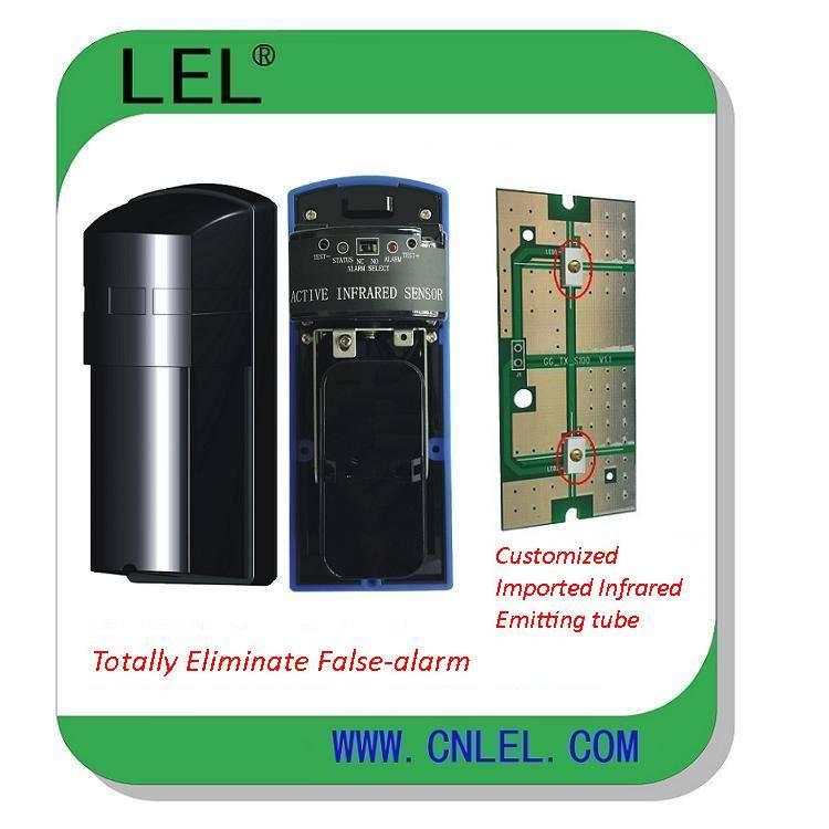 LBD-100F  Super Anti-False Alarm Long Range Infrared Beam Sensor