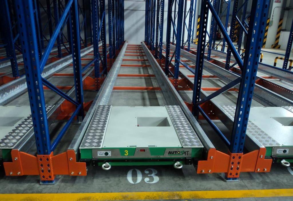 radio shuttle racking,warehouse racking,pallet mole