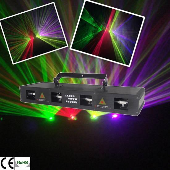 4Head RGPY laser light