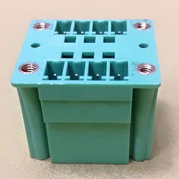 5.0/5.08mm Terminal Block 2x4Pin PCB MALE 90