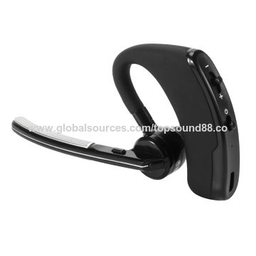 Bluetooth V4.0 Wireless HD StereoEarHook/Clip Headset with Microphone Echo&Noise Cancelling SW-B37-A