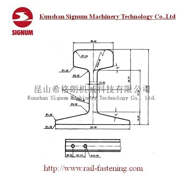 Chinese Standard 30KG Steel Rail