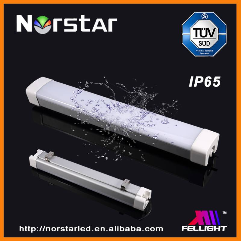 IP66 IK09 Led Linear Lighting 1200mm 40W / 50W with TUV CE SAA RoHS ,5 years warranty