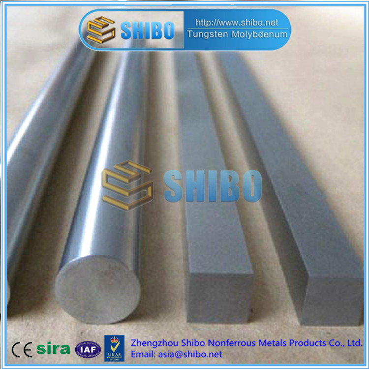 High Purity 99.95% Moly bar, Molybdenum bar