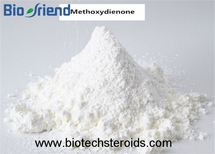 Hot Sale Anti Estrogen Steroids Methoxydienone for Strongest Bodybuilding CAS:2322-77-2