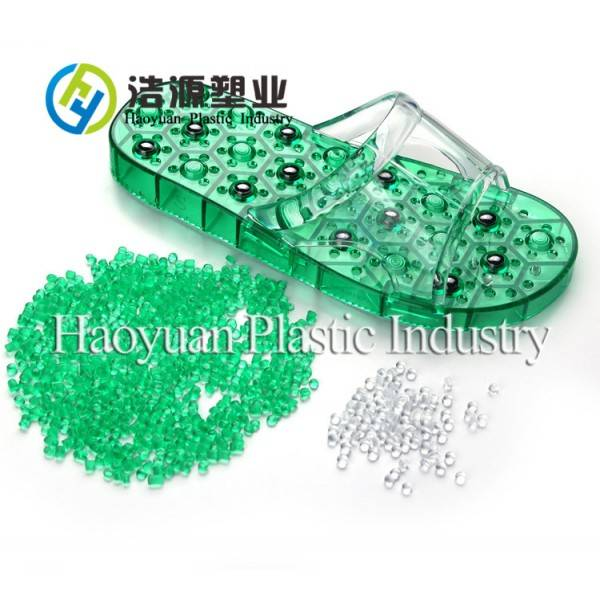 Virgin Crystal pvc granules for shoes and sole