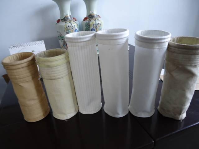 Fiberglass needle felt filter bag