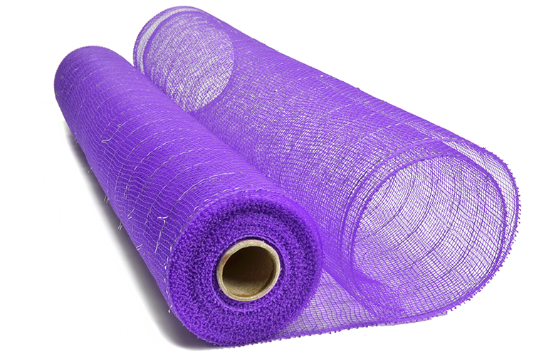 21inch10yard purple silver strip china factory gift packing paper for 20S09