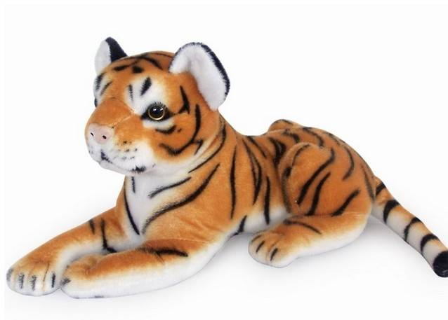 Plush bluetooth speaker tiger