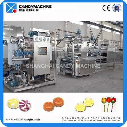 Hard candy production line made in China