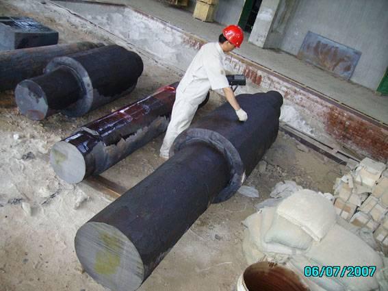 hot rolling work rolls