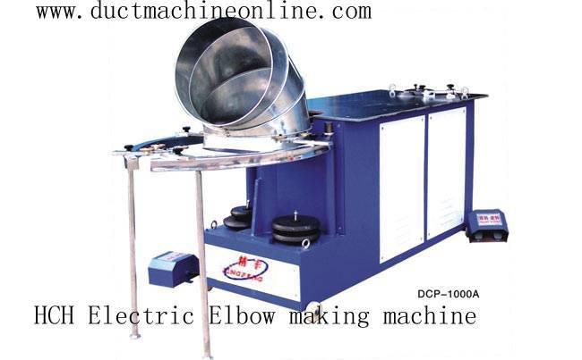 HCH Electric Elbow making machine