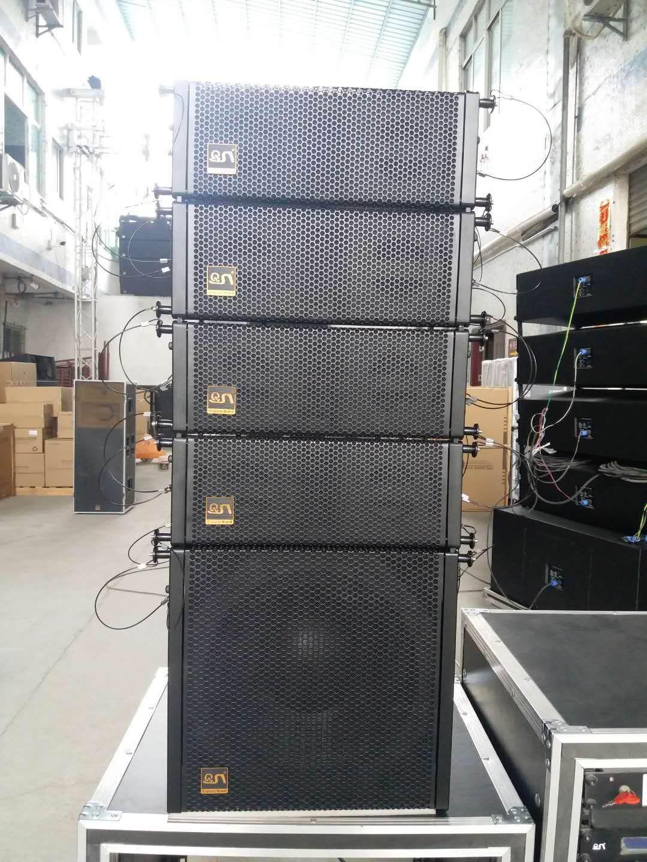 pro audio dual 4 inch mini line array speaker Q204