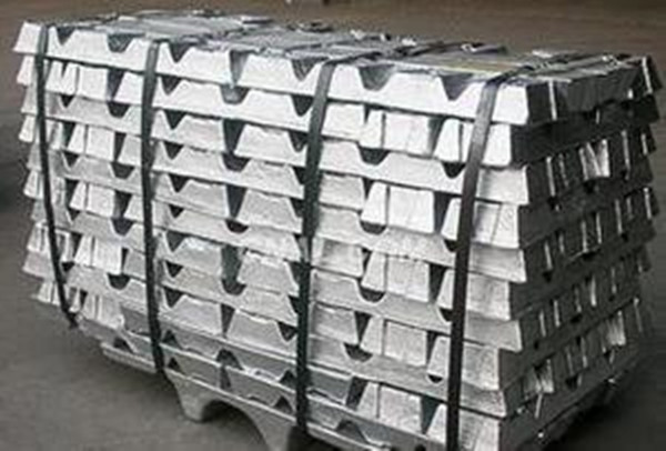 Nonferrous metal 99.995% zinc ingot used in wide field