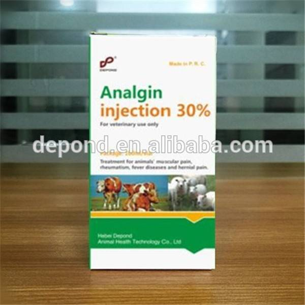 Animal health care analgin antipyretic injection veterinary medicines for cattle