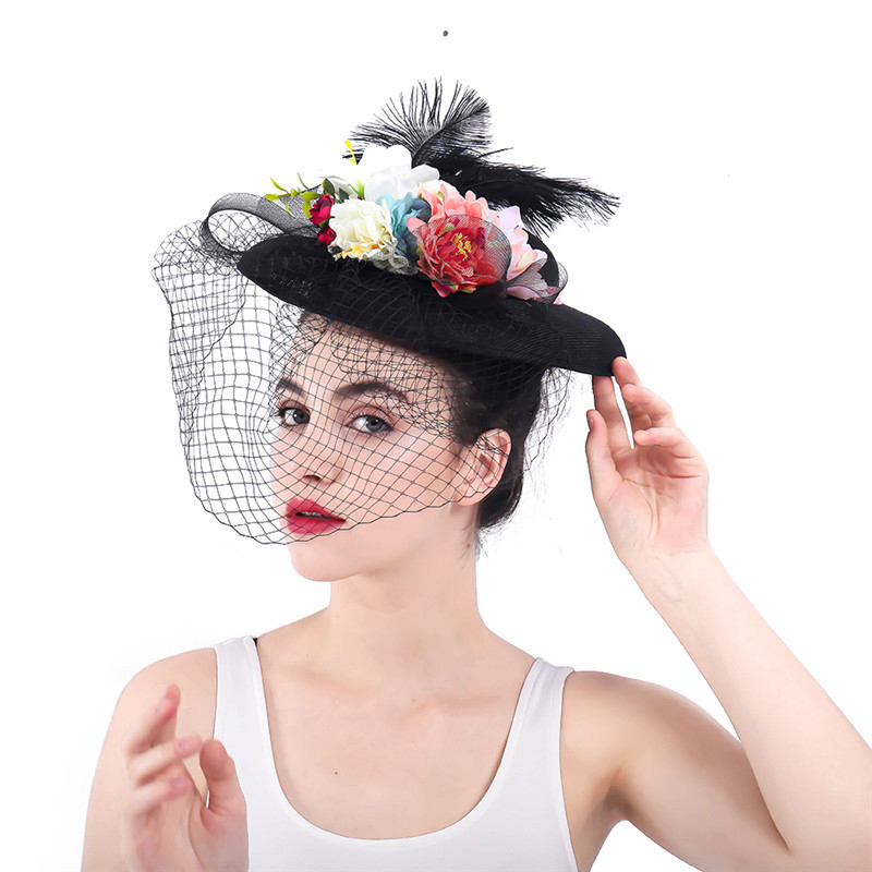 sinamay top hat,wedding hat