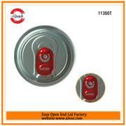 113SOT Aluminium Easy Open End Factory