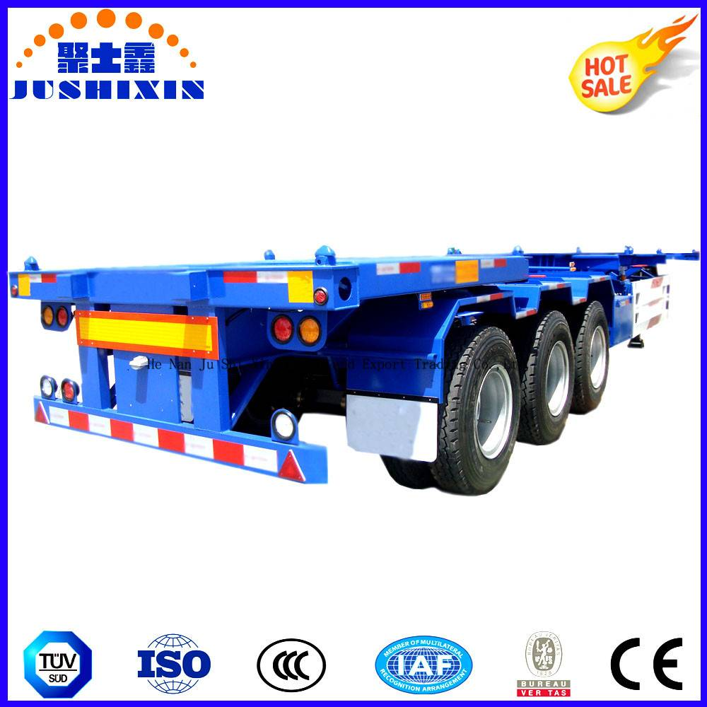 Tri Axle Container Frame Trailer for Truck