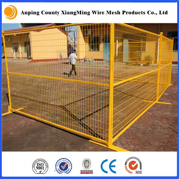 6x9.5ft Coated Temporary Fence for US/CA market