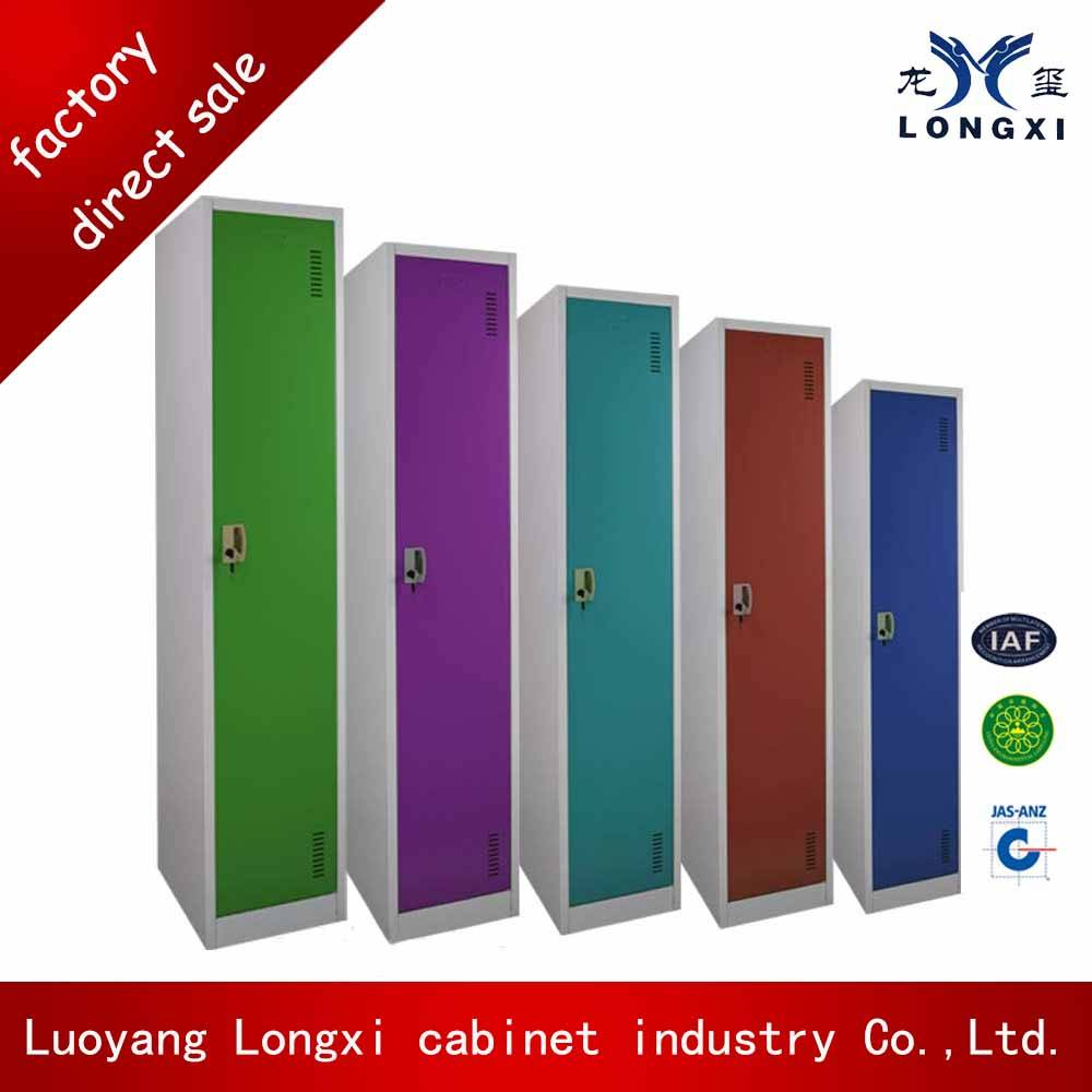 Luoyang factory colorful single door one tier locker