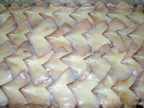 Seafood frozen squid tube(todarodes)