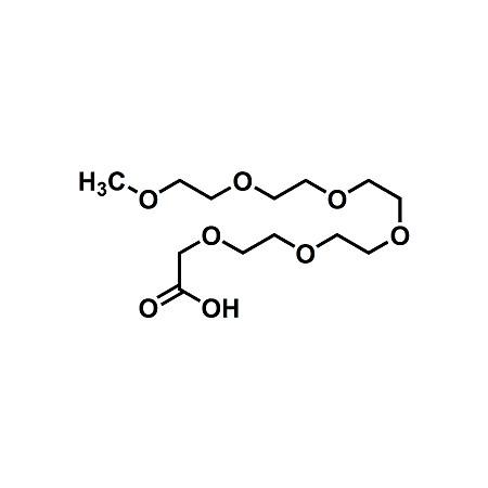 mPEG5-acetic acid, mPEG5-CH2COOH, CAS#16142-03-3