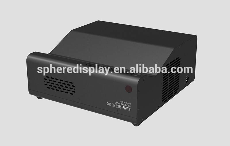 Multimedia laser UST DLP projector with 3000lm brightness in education support