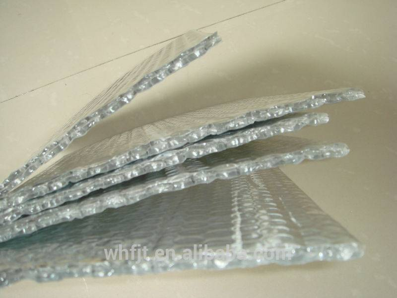 double air bubble heat insulation