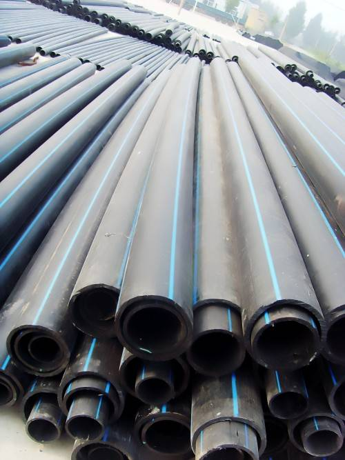 HDPE cable protection duct pipe