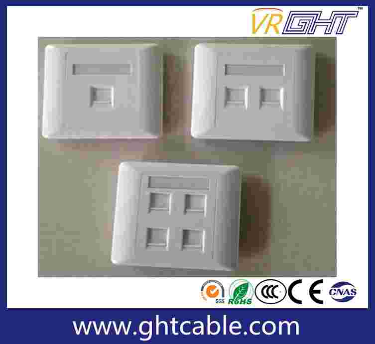 Four Aperture Panel Wall Outlet
