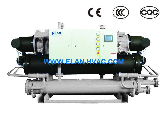 Water Cooled Screw Industrial Chiller low temperature Chiller