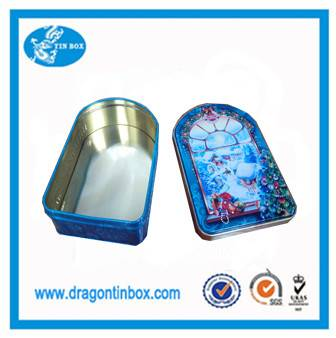 New products beautiful design CMYK printing tea tin boxes coffee tin cans