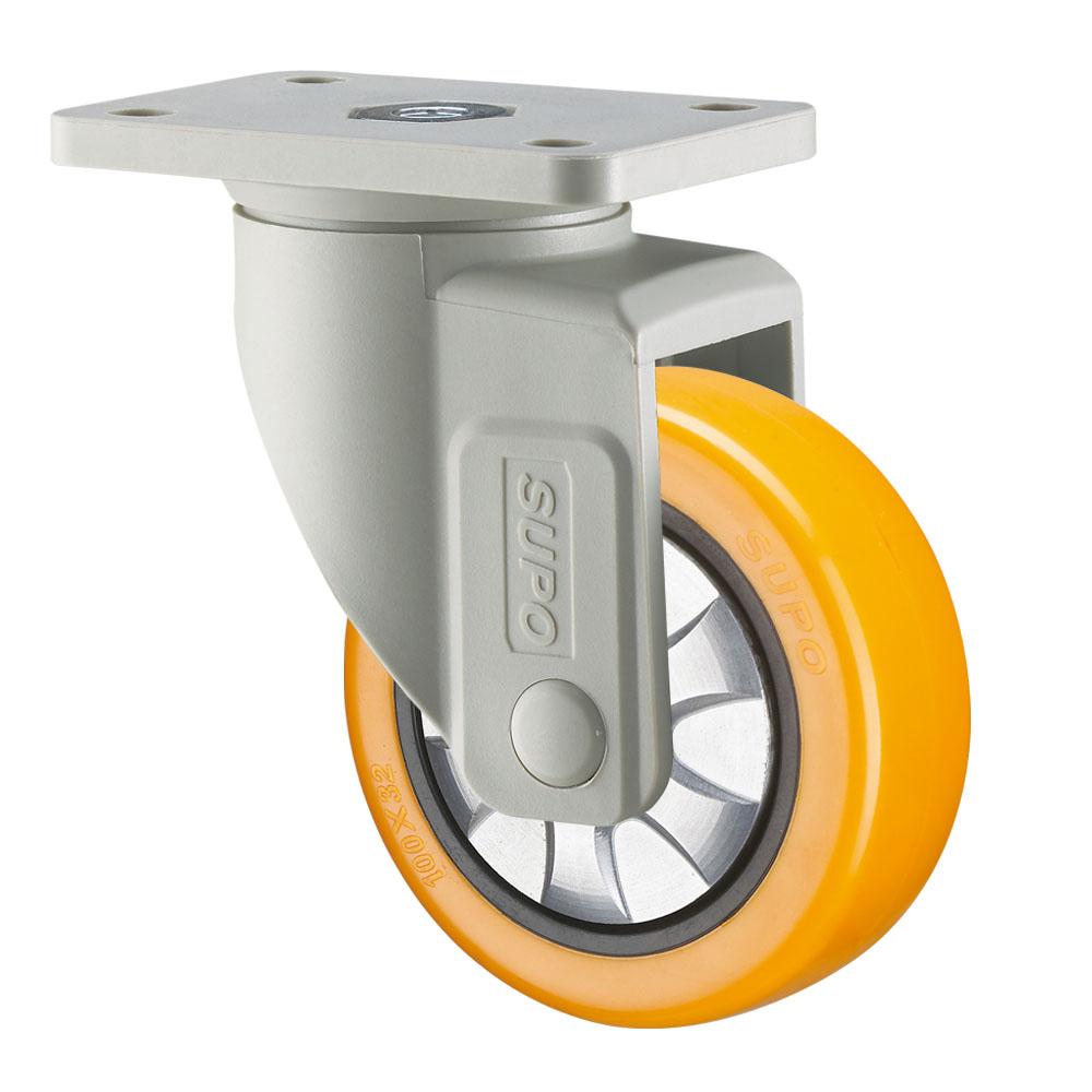 Swivel Fixed Plate Load Waterproof Water Resistant Medium Light Duty Industrial Caster Castors