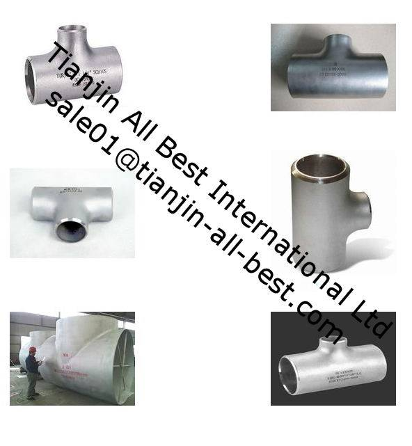 Stainless Steel Seamless ASTM B16.9 Butt Welding Pipe Tee