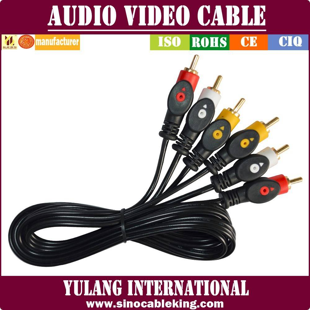 3RCA-3RCA-CABLE WITH FISH-EYE FOR EGYPT MARKET