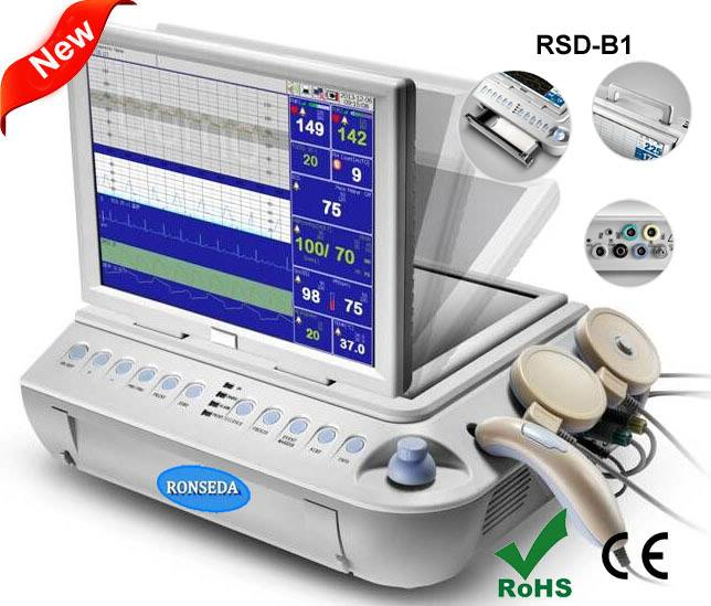 Latest Design Top Quality Multi function Fetal Monitor
