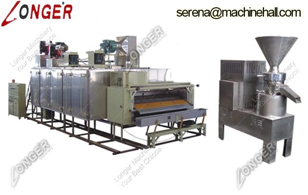 Peanut Butter Processing line|Peanut Butter Production Machine|Peanut Sauce Making Machine