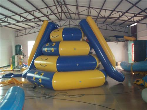 PVC Inflatable Water Parks , Inflatable Water Slide For Rental Durable
