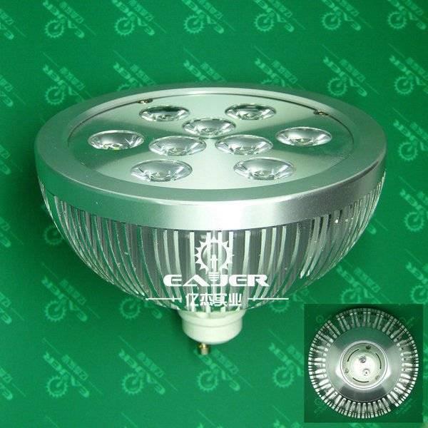 Newest design high quality gu10 par38 led 9w