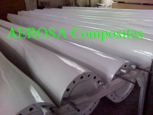 20KW Wind Turbine Blade - Dezhou Aerosa Composites Co ,Ltd