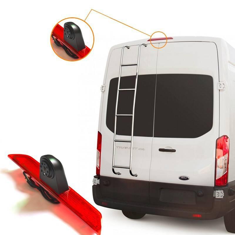 Vardsafe Backup Rear View 3rd Brake Light Camera For Ford Transit Van
