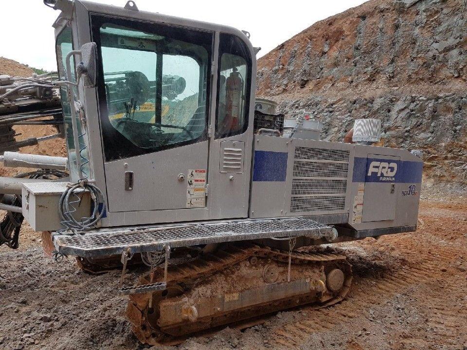 Used crawler drill FURUKAWA HCR-10DSII