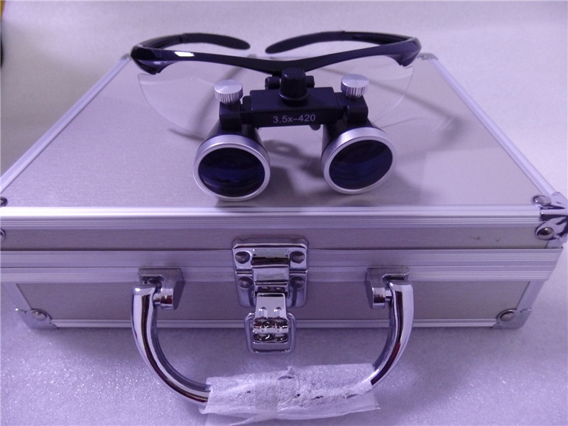 Hot sale 2.5X,3.5x dental loupes/magnifying glasses dental and surgical loupes